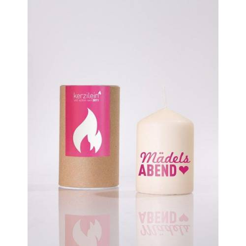 Candles  for girls.   A cheeky...