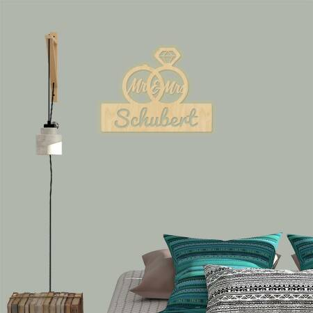 Wandlampe Mr & Mrs